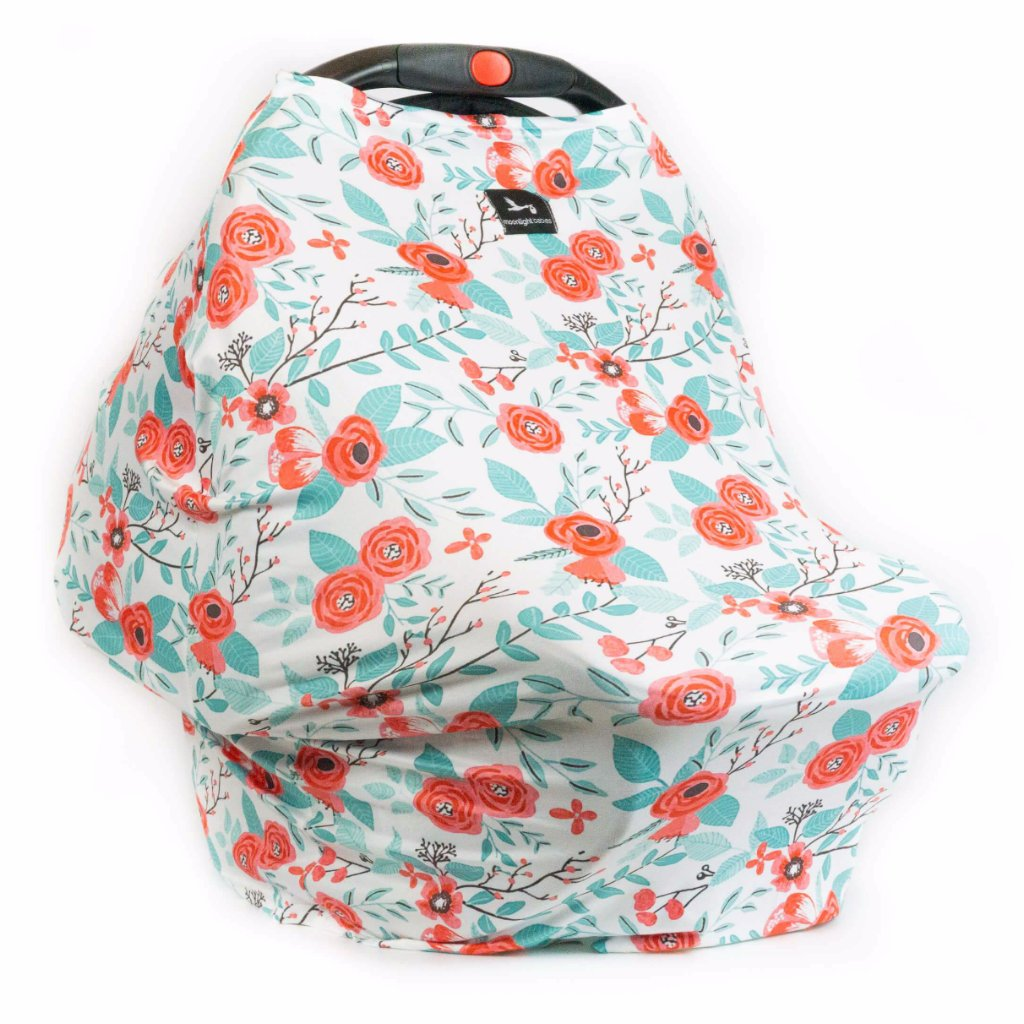 Multi-Use Nursing & Car Seat Baby Covers