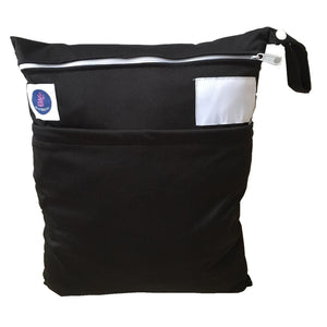Black waterproof wet bag