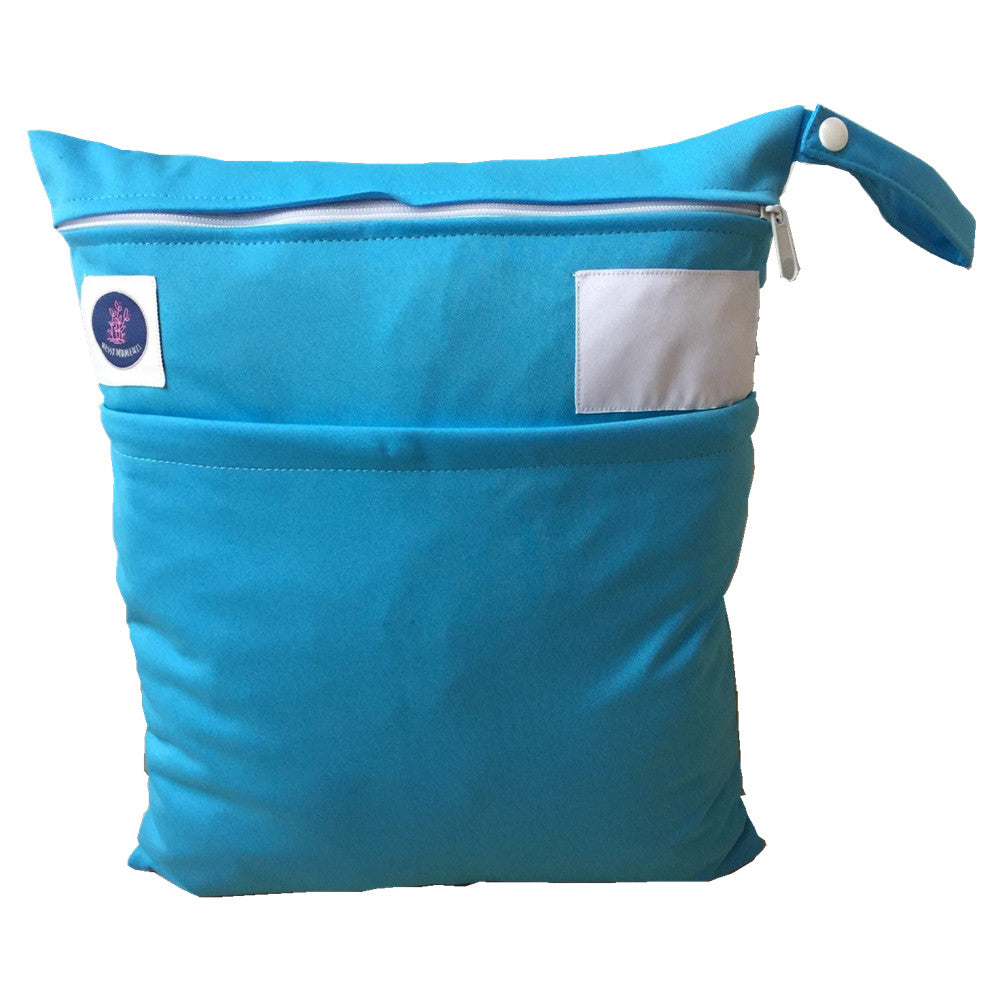 Blue waterproof wet bag