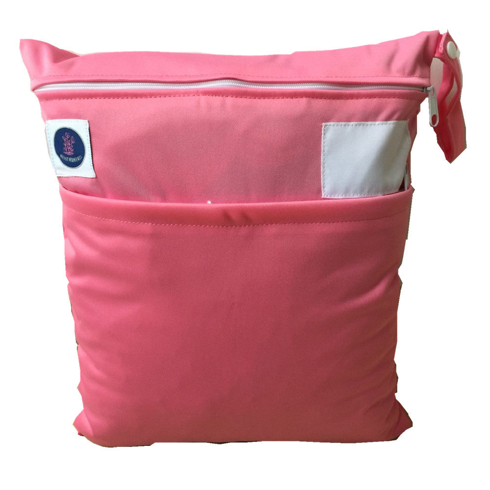 Pink waterproof wet bag