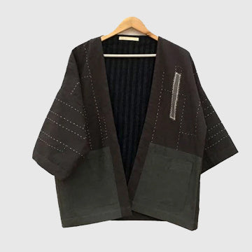 Eclipse Kimono Jacket - Patch o'ver Patch - inkahaani