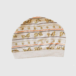 Skippy the Squirrel Cap, Brown,Free Size - inkahaani