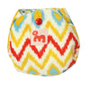 Supersoft newborn - Ikat Chevron - inkahaani