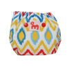 Cover diaper with 1 soaker - Ikat Chevon - inkahaani