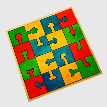 Locking Puzzle Blocks - inkahaani