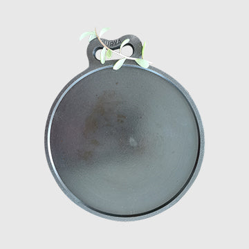 Cast Iron Pizza Pan/Tawa - 11'' - inkahaani