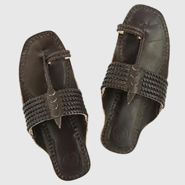 Handmade Kolhapuri Sandals for Men - inkahaani