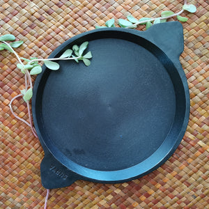 "Cast Iron Frying pan 9"" - inkahaani"