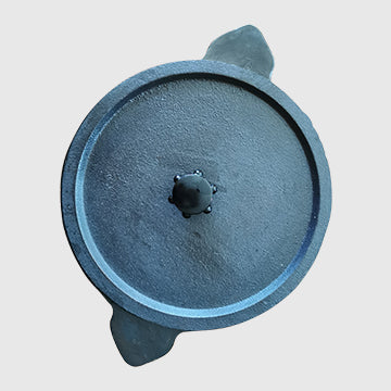Cast Iron Appakal with lid 9