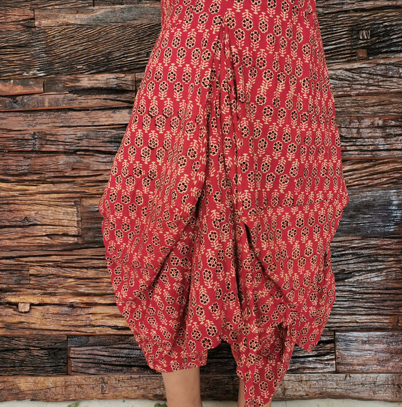 Flower Print Bottoms - inkahaani