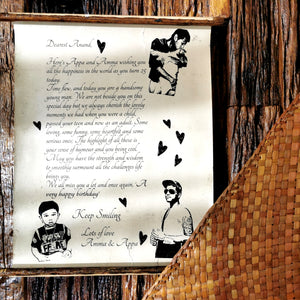Message in a scroll (Personalized) - inkahaani