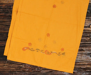 Chouk Hand embroidered bed linen - inkahaani