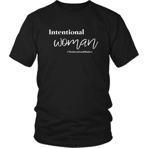 Intentional Woman Black Universal Tee