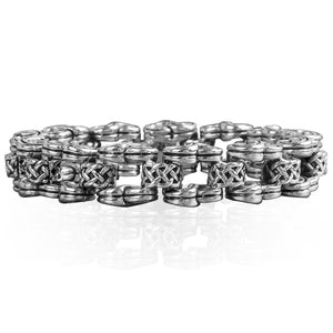 Celtic Knot Steel Mens Bracelet