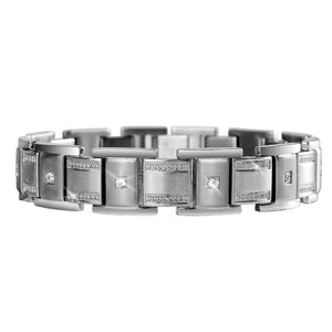 Buckingham Men's Steel Bracelet