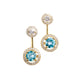 Catalina Halo Earrings