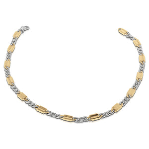 Andreo Two-Tone Steel Necklace