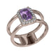Destiny Amethyst Ring