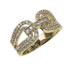 Gancini Gold Ring