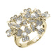 Bouquet Gold Ring