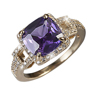 Radiant Orchid Ring