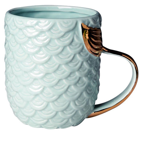 Image of Mermaid Coffee Mug Set 14 oz