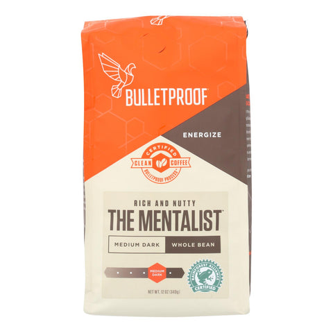 Image of Bulletproof Coffee - The Mentalist Whole Bean - Case Of 6 - 12 Oz.