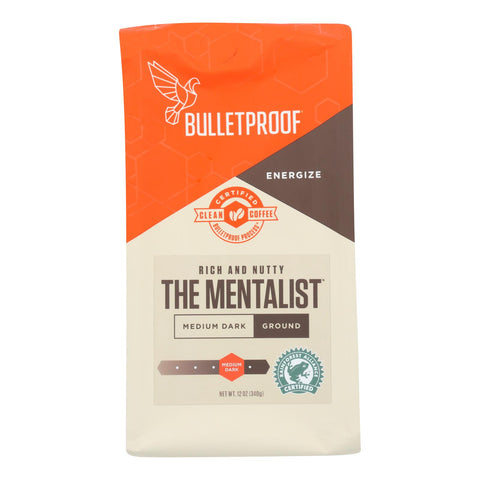 Bulletproof Coffee - The Mentalist Ground - Case Of 6 - 12 Oz.