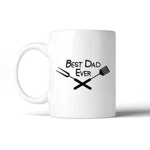 Best Bbq Dad Unique Fathers Day Ceramic Mug 11oz Funny Dads Gifts - Apparel & Accessories