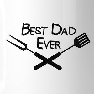 Best Bbq Dad Unique Fathers Day Ceramic Mug 11oz Funny Dads Gifts
