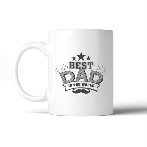 Best Dad In The World Fathers Day Mug Cup Dishwasher Microwave Safe - Apparel & Accessories