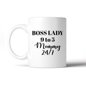 Boss Lady Mommy Funny Coffee Mug Humorous Gift Idea For Bossy Moms - Apparel & Accessories