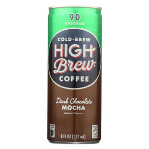 High Brew Coffee Coffee - Ready To Drink - Dark Chocolate Mocha - 8 Oz - Case Of 12 - Eco-Friendly Home & Grocery