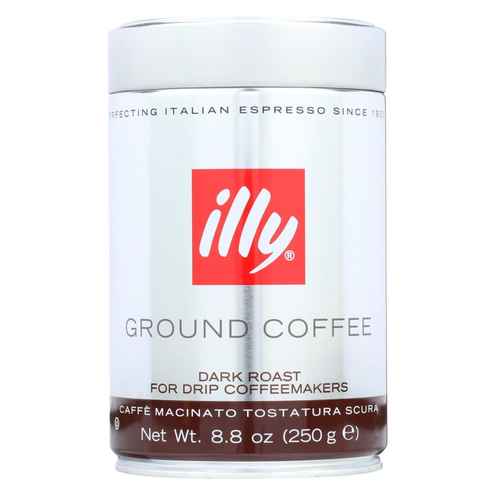 Illy Caffe Coffee Coffee - Drip - Ground - Dark Roast - 8.8 Oz - Case Of 6 - Eco-Friendly Home & Grocery