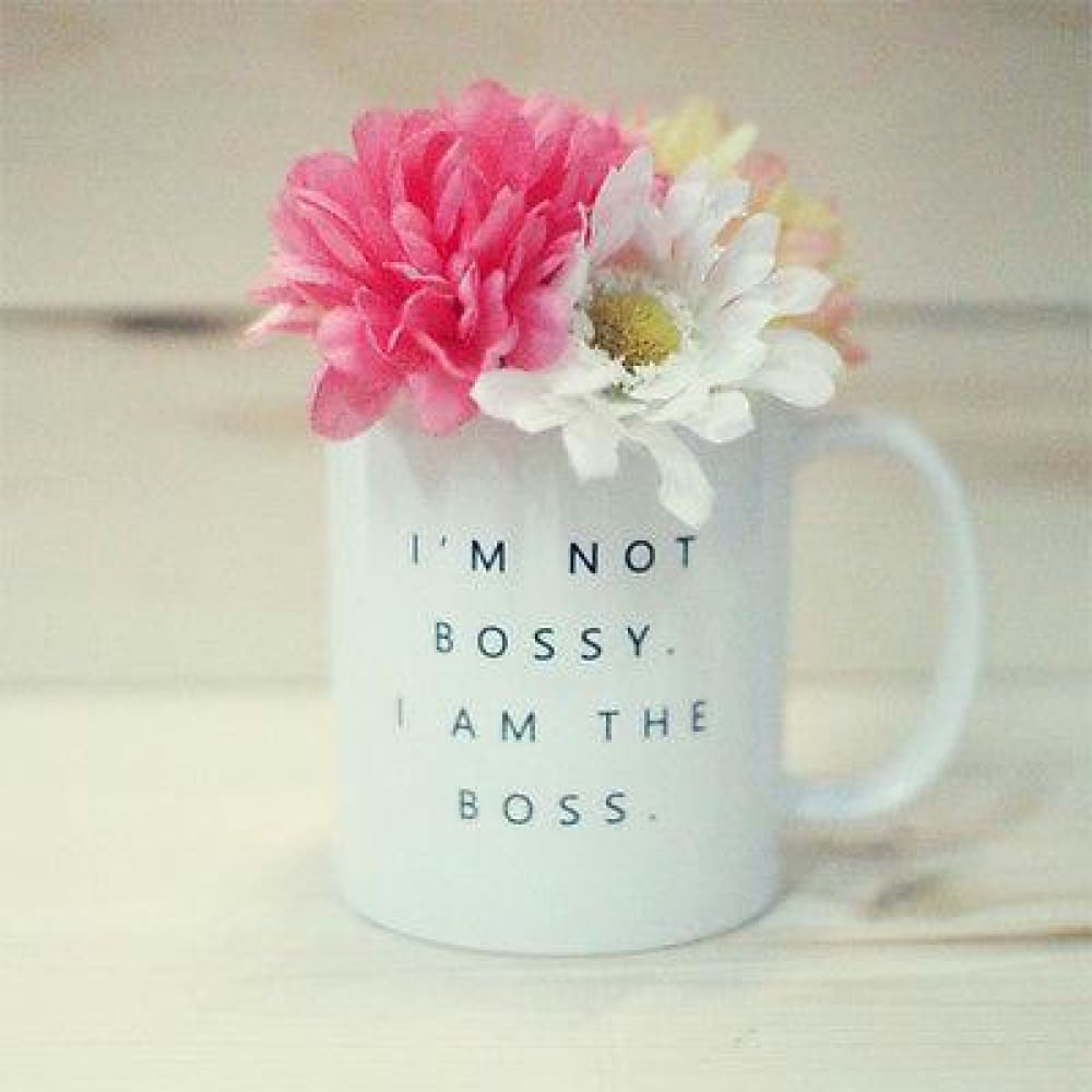 Im Not Bossy I Am the Boss Mug- Funny 11 oz Coffee Mug Cup Gift - Apparel & Accessories