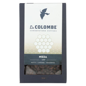 La Colombe Whole Bean Coffee - Nizza - Case Of 8 - 12 Oz. - Eco-Friendly Home & Grocery