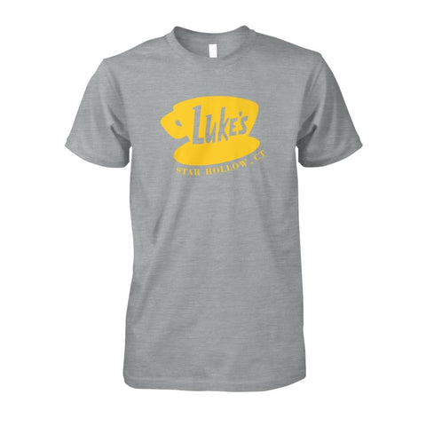 Image of Lukes Star Hollow Ct. Tee - Sport Grey / S - Short Sleeves