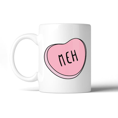 Image of Meh 11Oz Coffee Mug Dishwasher Microwave Safe Cute Graphic Mug - Apparel & Accessories
