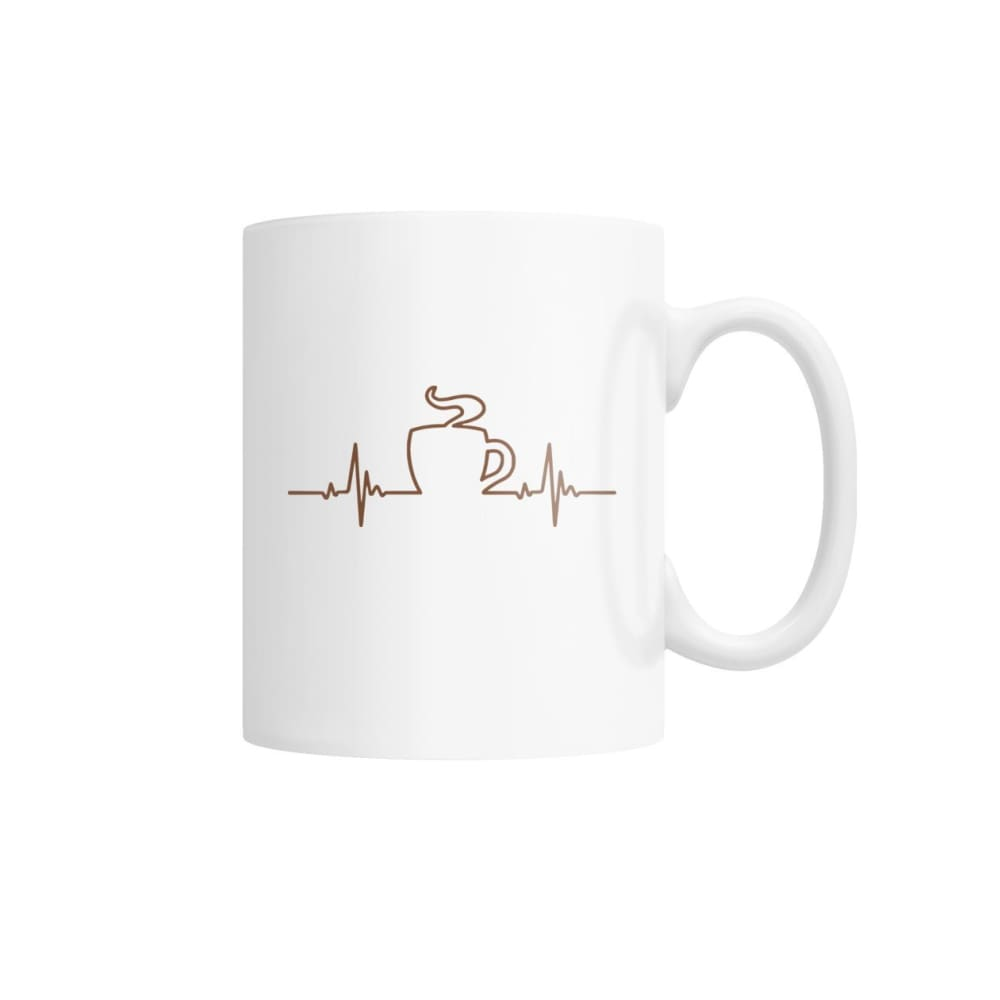 One With Coffee Mug White Coffee Mug - Drinkware