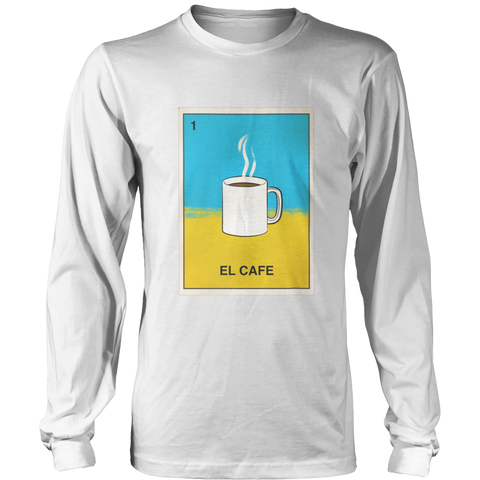 El Cafe Loteria Apparel
