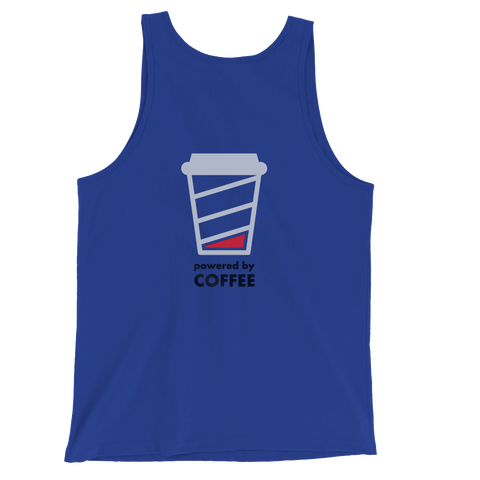Powered By Coffee Back Design