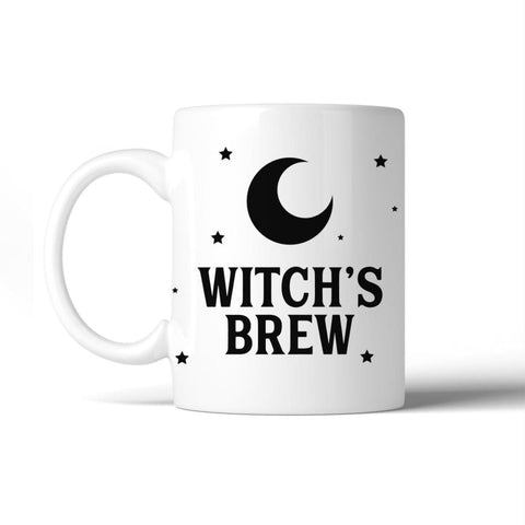 Image of Witchs Brew Pattern White Mug - Apparel & Accessories