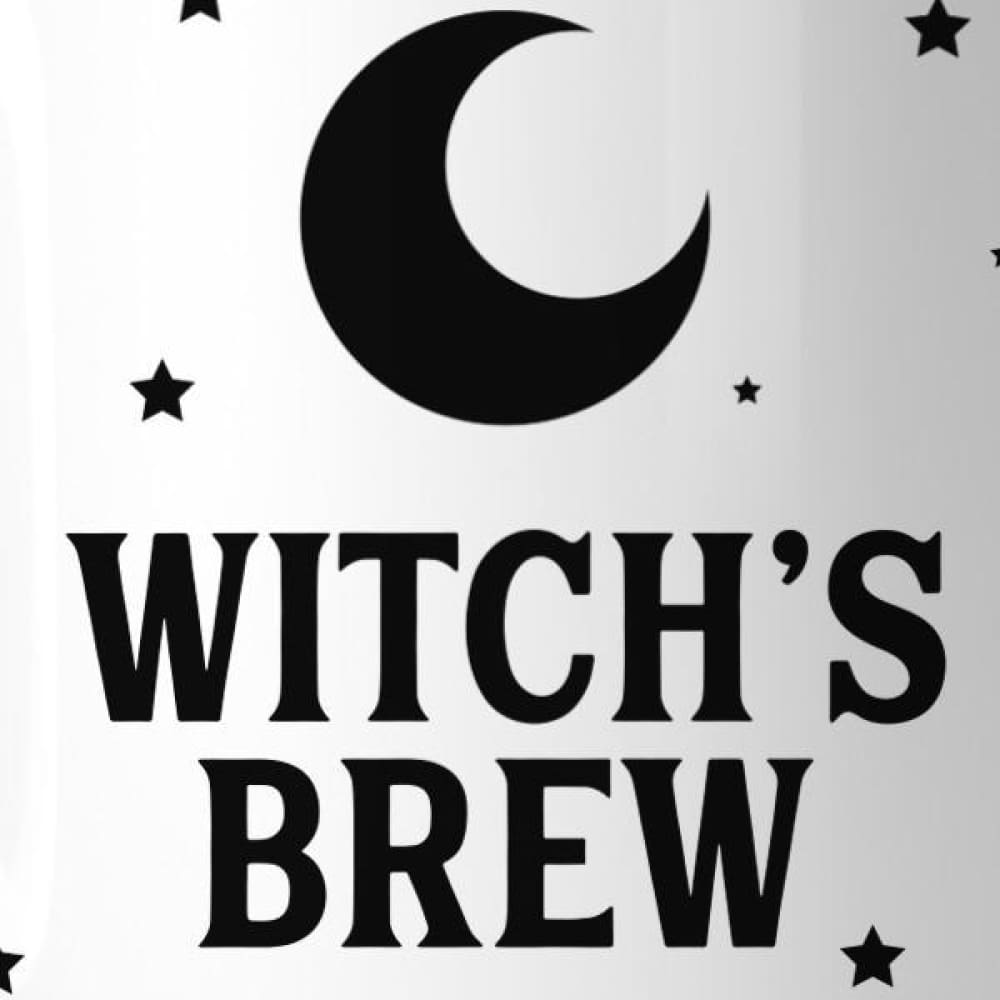 Witchs Brew Pattern White Mug - Apparel & Accessories