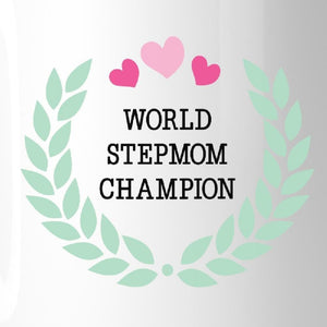 World Stepmom Champion Unique Design Mothers Day Mug For Stepmoms