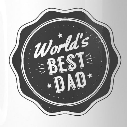 Worlds Best Dad Ceramic Gift Mug Perfect Fathers Day Gifts For Dad - Apparel & Accessories