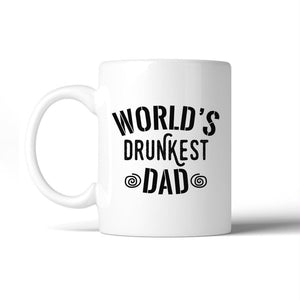 Worlds Drunkest Dad Funny Design Coffee Mug For Fathers Day Gifts - Apparel & Accessories