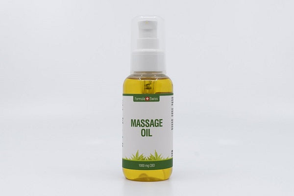 CBD-massageolie