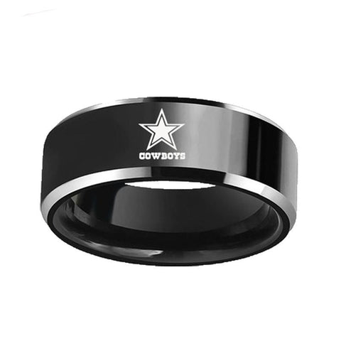 Cowboys Stainless Steel Ring