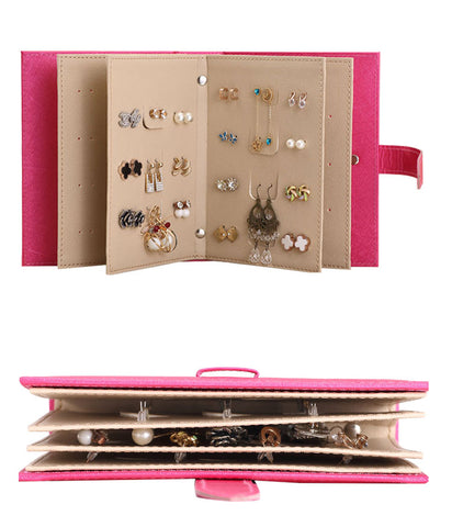 Image of Leather Earring Portable Organizer