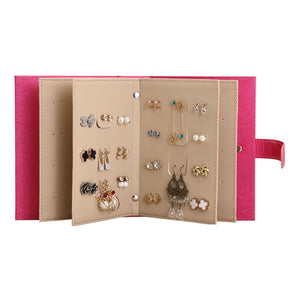 Leather Earring Portable Organizer